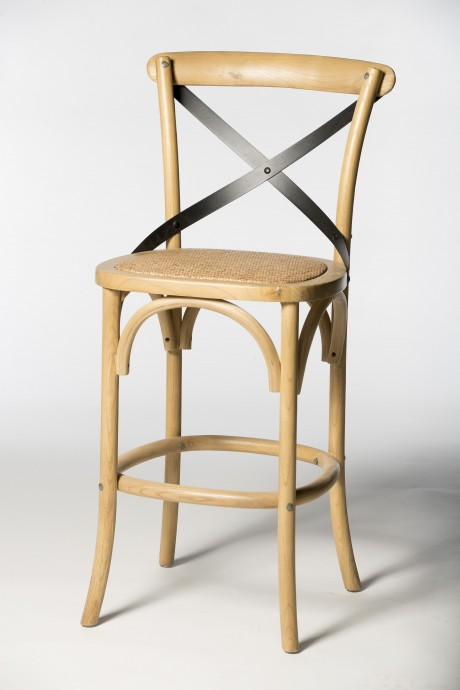 כיסא בר איקס ברזל
